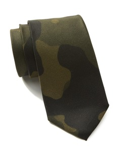 Hugo Boss Silk Camo Tie