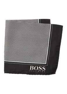 Hugo Boss Silk Dot Pocket Square