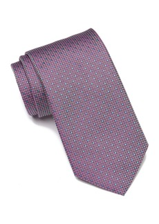 Hugo Boss Silk Grid Tie