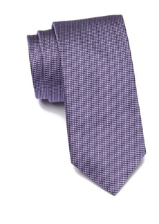 Hugo Boss Silk Micro Pattern Tie