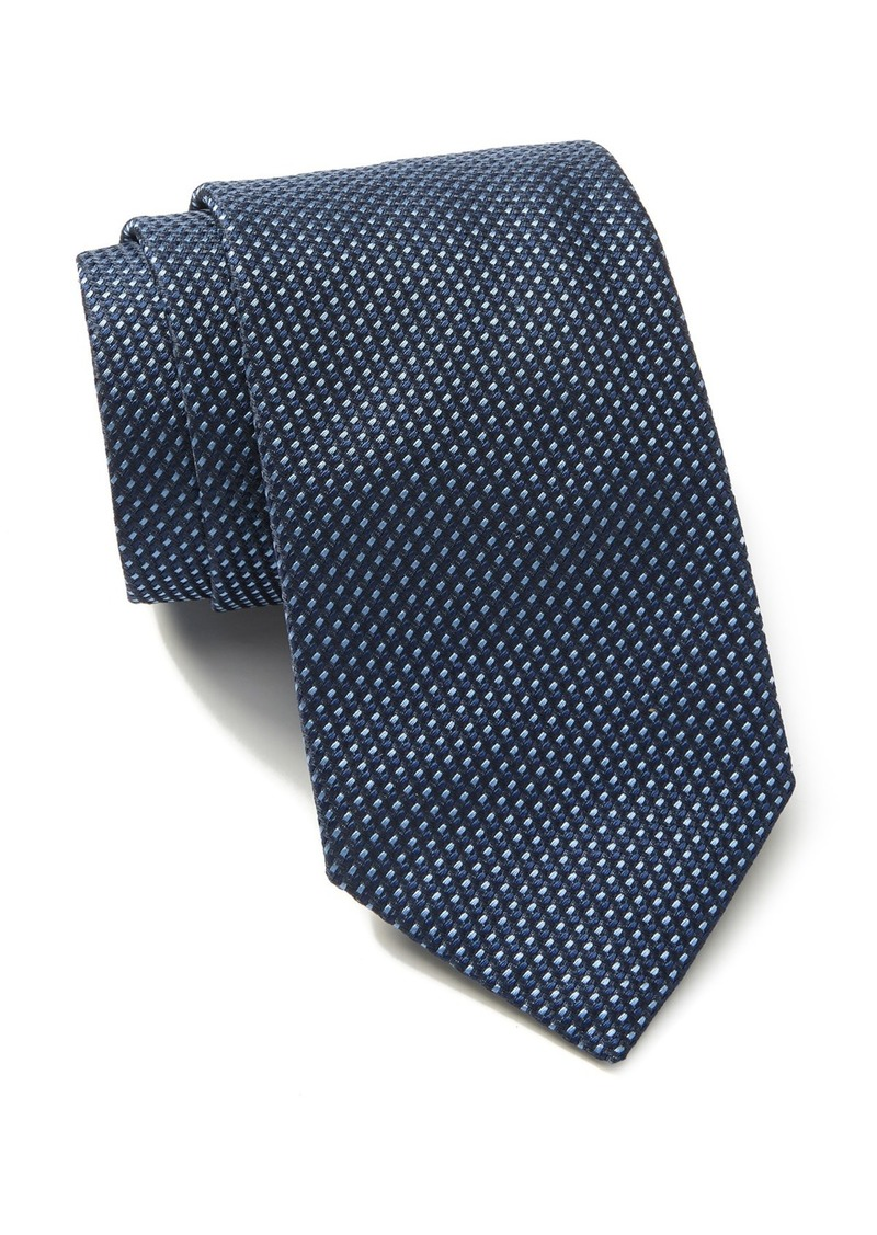 Hugo Boss Silk Neat Pattern Tie