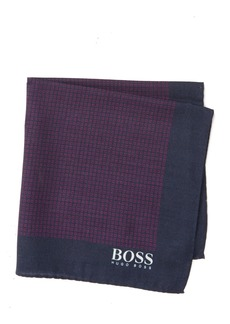Hugo Boss Silk Printed Pocket Square