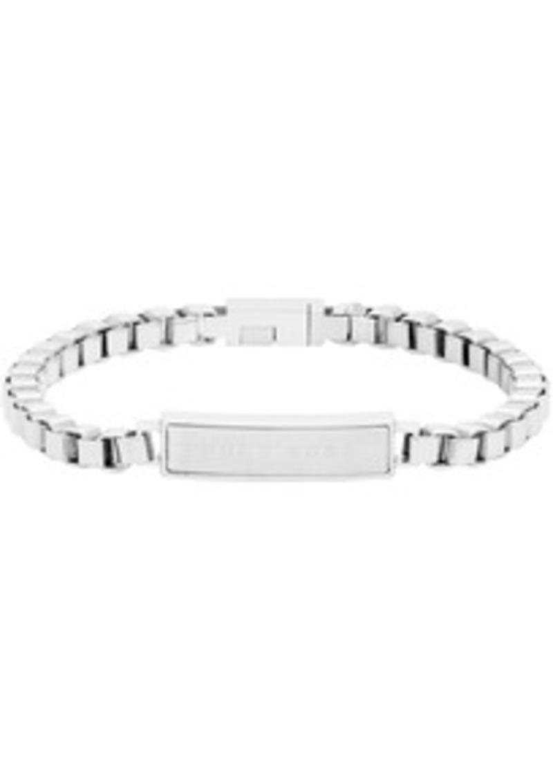 Hugo Boss Silver E-Chain Bracelet