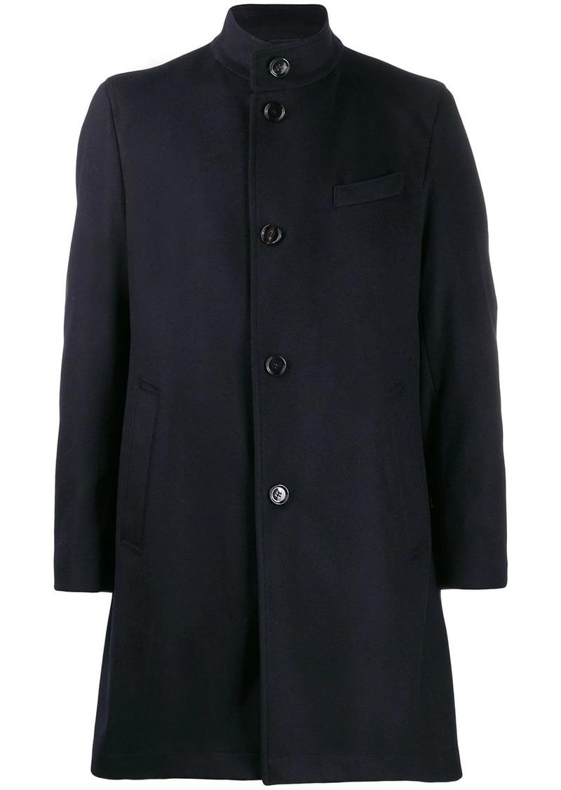 Hugo Boss single breasted wool coat