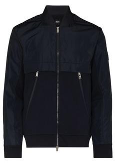 Hugo Boss Skiles 23 zipped bomber jacket
