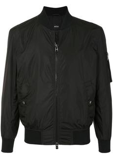 Hugo Boss sleeve-pocket bomber jacket