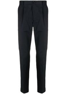 Hugo Boss slim-cut cotton trousers