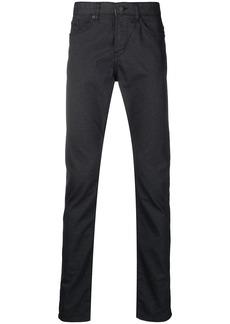 Hugo Boss mid-rise slim-cut jeans