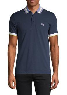Hugo Boss Slim-Fit Logo Cotton Polo