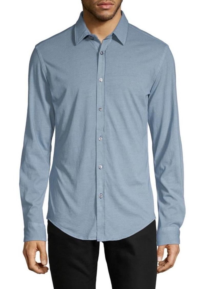 Hugo Boss Slim-Fit Long-Sleeve Shirt