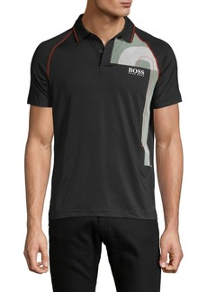 Hugo Boss Slim-Fit Raglan-Sleeve Polo