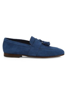 Hugo Boss Soho Tassel Suede Loafers