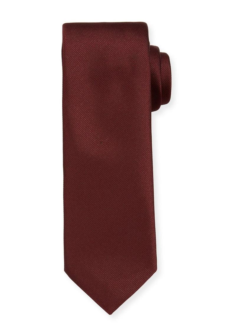 Hugo Boss Solid Silk Tie