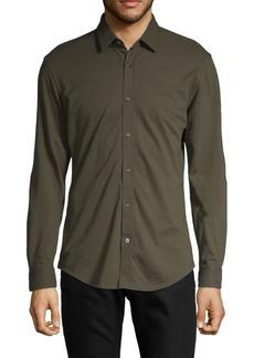 Hugo Boss Spread Collar Long-Sleeve Shirt