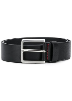 Hugo Boss square buckle belt