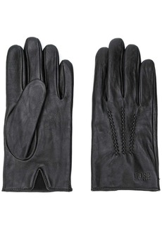 Hugo Boss stitch detail gloves