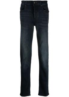 Hugo Boss stonewashed slim-fit jeans