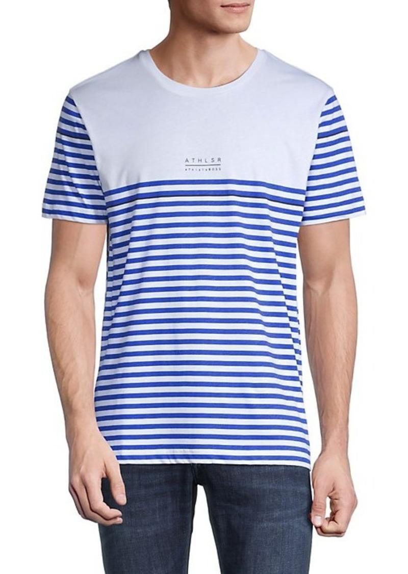Hugo Boss Stripe Cotton T-Shirt