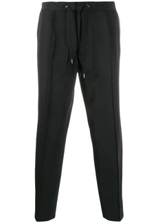 Hugo Boss stripe detail cropped trousers