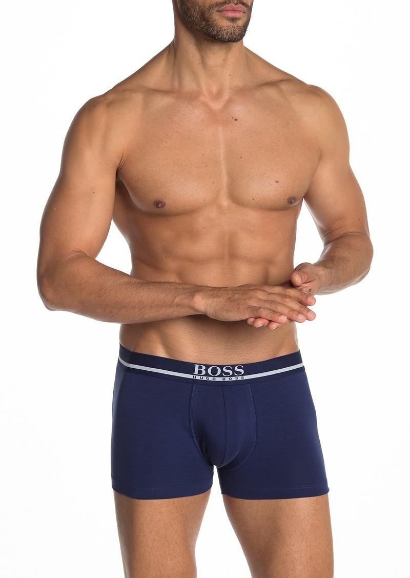 Hugo Boss Stripe Logo Stretch Cotton Trunks