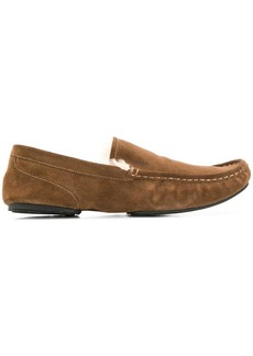 Hugo Boss suede loafers