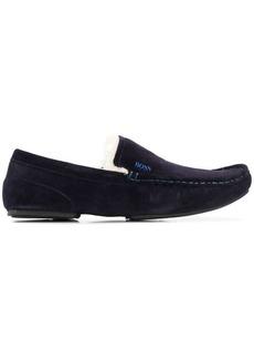 Hugo Boss suede loafers