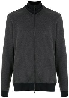 Hugo Boss high-neck zip-up sweatshirt
