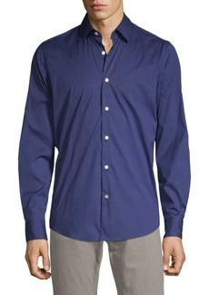 Hugo Boss T-Landon-53F Textured Button-Down Shirt