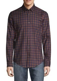 601073fdf SALE! Hugo Boss HUGO BOSS Striped Cotton Sportshirt