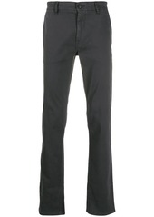 Hugo Boss logo plaque tailored trousers