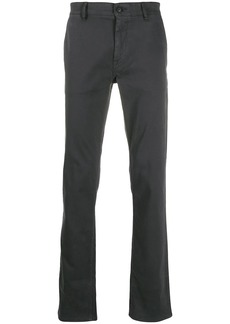 Hugo Boss logo plaque tailored trousers