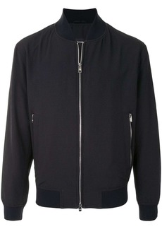 Hugo Boss textured bomber jacket