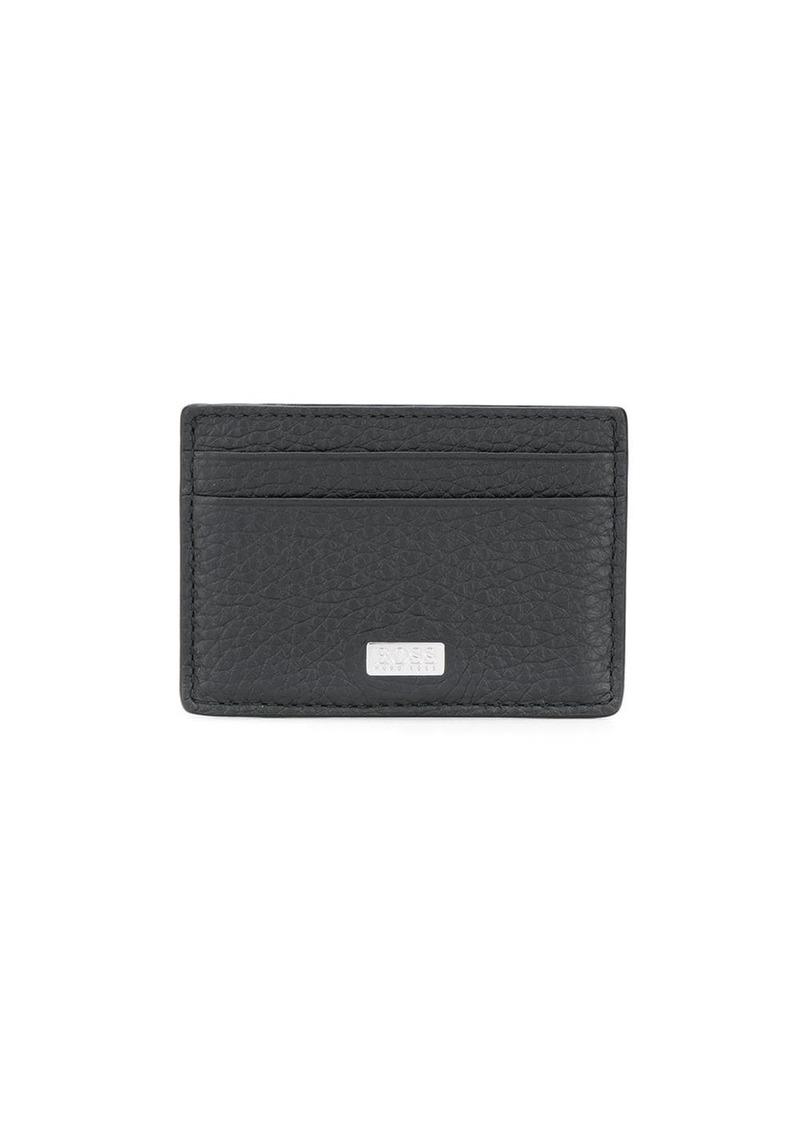 Hugo Boss textured cardholder