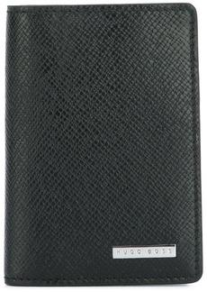 Hugo Boss textured fold wallet