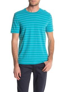 Hugo Boss Tiburt Stripe Crew Neck T-Shirt