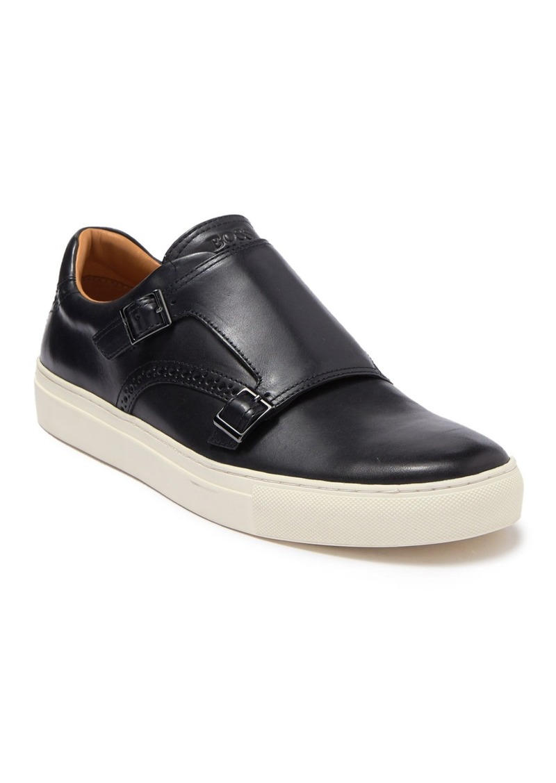 Hugo Boss Timeless Monk Strap Slip On Sneaker