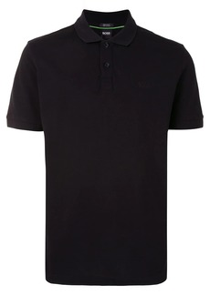 Hugo Boss tonal logo polo shirt
