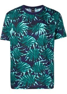 Hugo Boss tropical print T-shirt