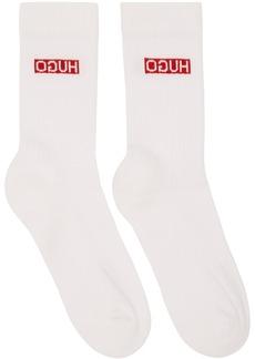 Hugo Boss Two-Pack Navy Colorblocked Socks