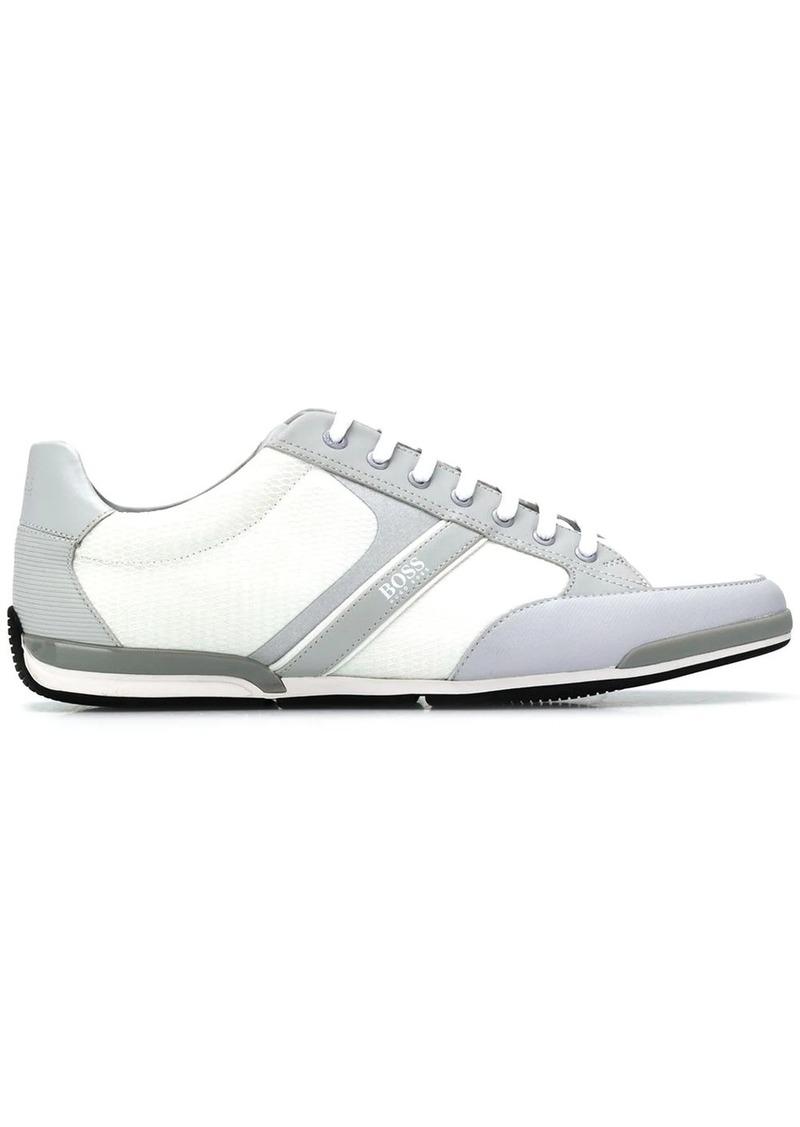 Hugo Boss two tone low top sneakers
