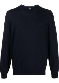 Hugo Boss V-neck long sleeve jumper
