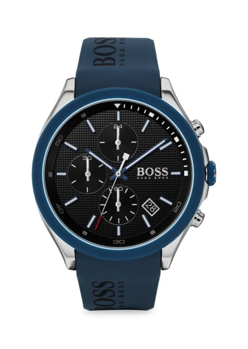 Hugo Boss Velocity Stainless Steel & Silicone Chronograph Watch
