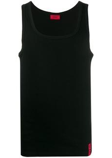 Hugo Boss vertical logo tank top