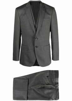 Hugo Boss virgin wool-blend three-piece suit