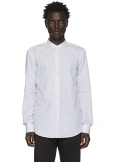 Hugo Boss White & Black Stripe Jordi Shirt