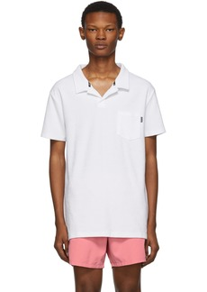 Hugo Boss White Beach Polo