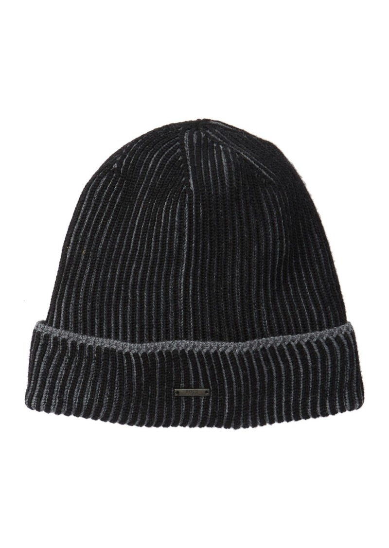 Hugo Boss Wool Knit Beanie
