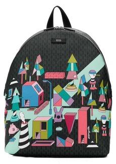 Hugo Boss x Jeremyville backpack