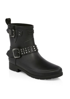 Hunter AW18 Refined Stud Biker Boots