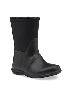 Hunter Baby's, Little Boy's & Boy's Original Faux Shearling-Lined Rain Boots